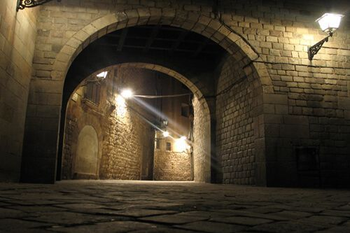 ruta nocturna Barri Gòtic Barcelona