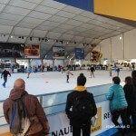 Bargelona, la pista de gel