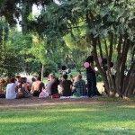 festa al Parc de la Ciutadella