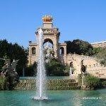 font monumental Parc Ciutadella