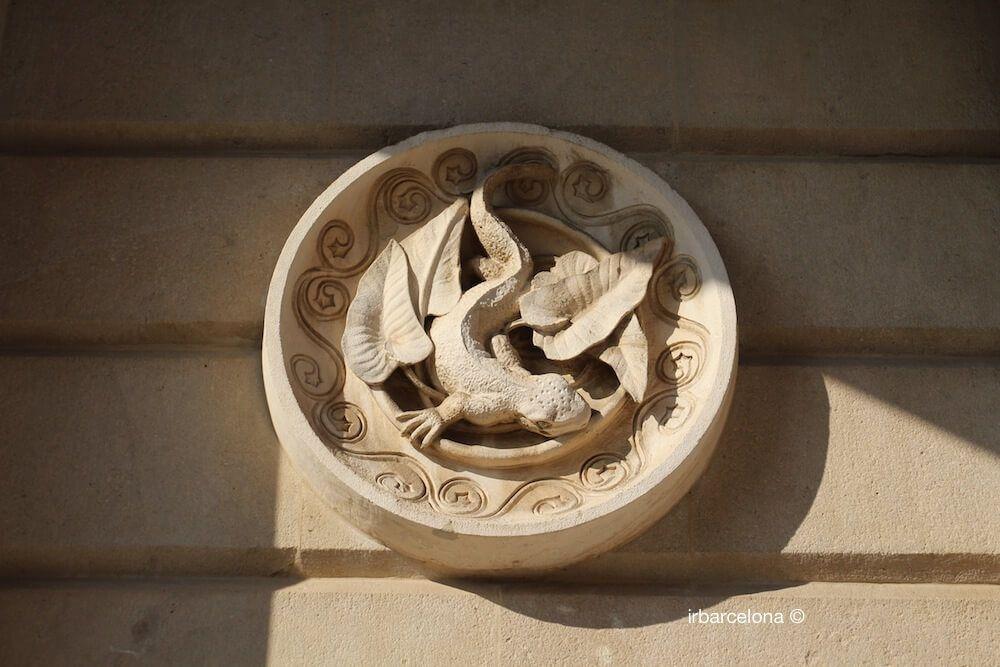 medalló atribuït a Antoni Gaudí