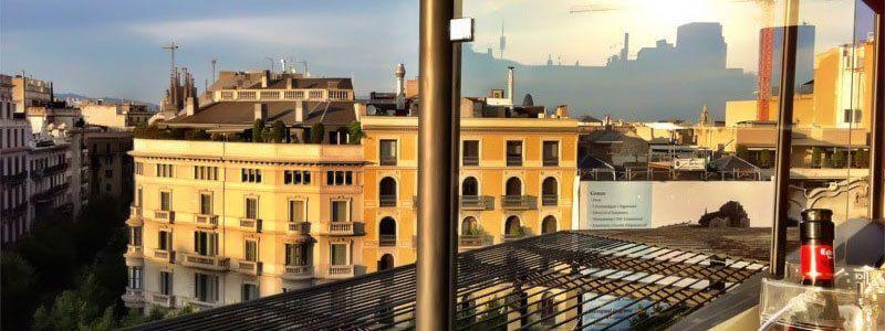 terrasses hotels Barcelona