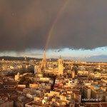 arc de Sant Martí i Catedral de Barcelona