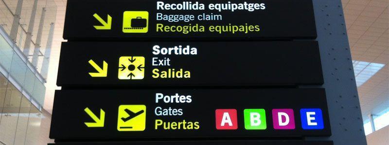 Centre Barcelona des de Aeroport El Prat