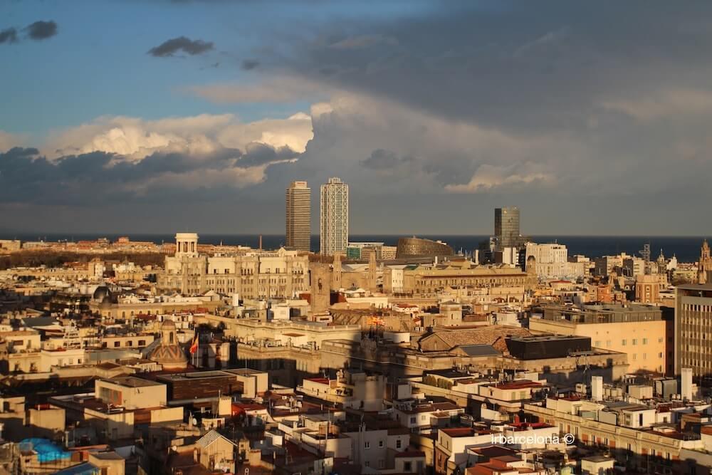 vista torre Mapfre i Hotel Arts