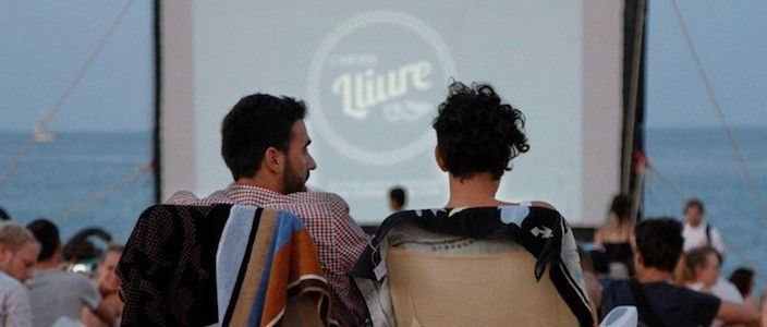 Cinema Lliure a la Platja, la mostra de cinema independent a la platja de Barcelona