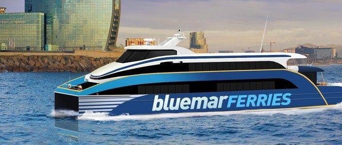 BlueMar Ferri Sitges Barcelona