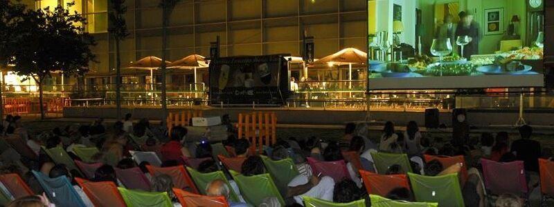 Cinema a la Fresca Illa Diagonal 2017