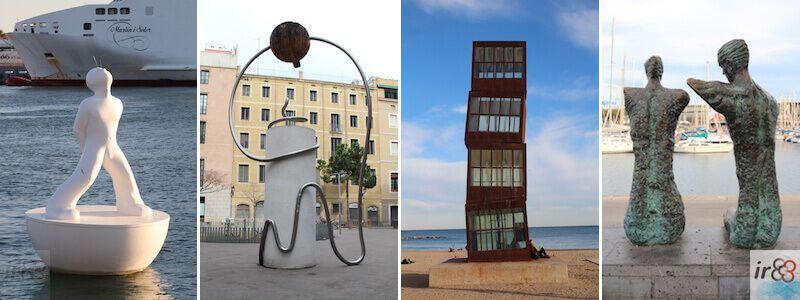escultures i estàtues urbanes a Barcelona