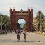 ciclistes passeig de Lluís Companys