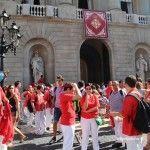 castellers Plaça Sant Jaume