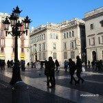 parella Plaça Sant Jaume