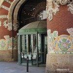 accés al Palau de la Música Catalana