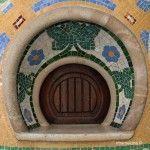 antiques guixetes del Palau de la Música Catalana