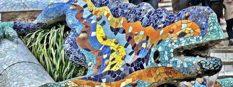 Salamandra Gaudí Park Güell