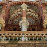 detalls façana Palau Música Catalana