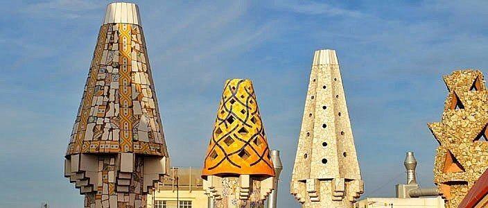 Palau Güell de Gaudí a Barcelona