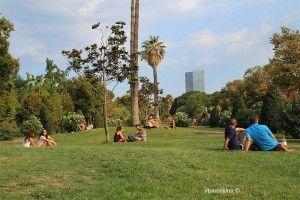 descans al Parc de la Ciutadella