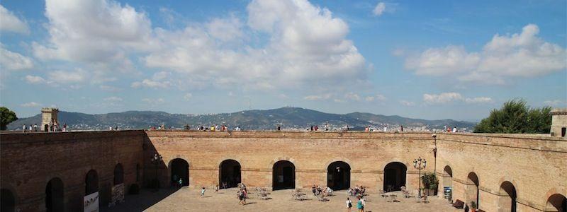 vistes Castell de Montjuïc