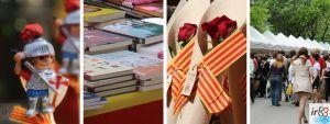 Diada de Sant Jordi a Barcelona