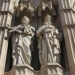 escultures façana Catedral de Barcelona