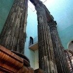 Columnes Temple August