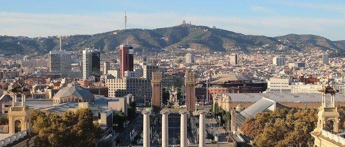 Les terrasses del MNAC, el nou mirador de Barcelona