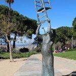 escultura Charlie Rivel