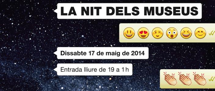 La Nit dels Museus Barcelona 2014