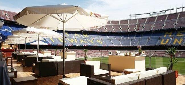 Camp Nou Lounge, la terrassa chill out del F.C. Barcelona