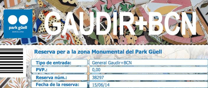 Gaudir Més BCN: Com visitar gratis la Zona Monumental del Park Güell i molt més!