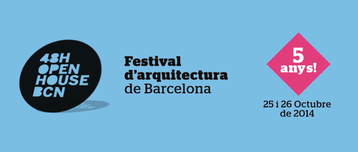 48h Open House Barcelona 2014: Visites portes obertes edificis