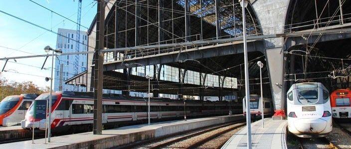 Barcelona amb tren