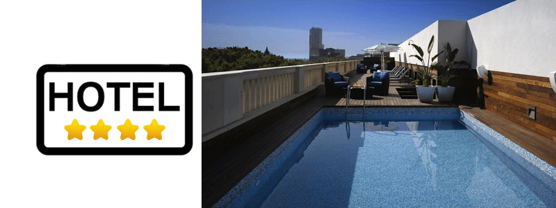 hotels 4 estrelles Barcelona