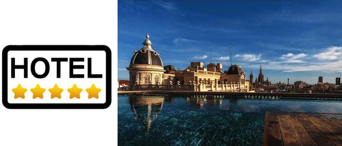 hotels de 5 estrelles a Barcelona