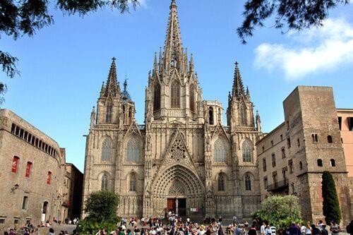 ruta barri gòtic Barcelona