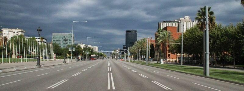 Barcelona per carretera