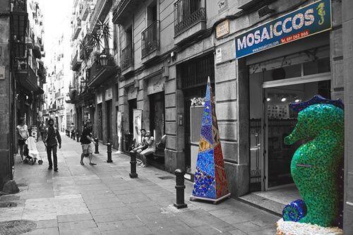 reservar taller Trencadís i Mosaic