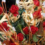 confecció roses Sant Jordi