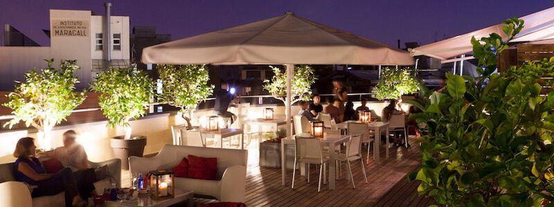 terrassa Setè Cel Hotel Amèrica