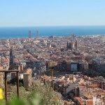 vistes de Barcelona des dels búnquers