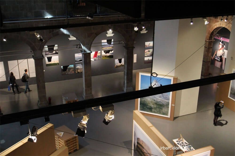 interior Centre d'Arts Santa Mònica