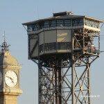 Torre del Rellotge i torre Aeri del Port