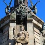 escultures monument Cristòfor Colom