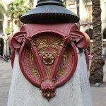 fanal de Gaudí Plaça Reial