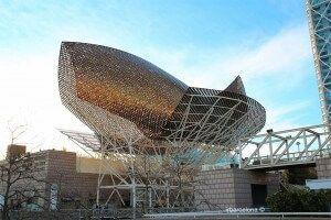 Peix Daurat de Frank Gehry