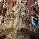 conjunt escultòric 'La Cançó Popular Catalana' de Miquel Blay
