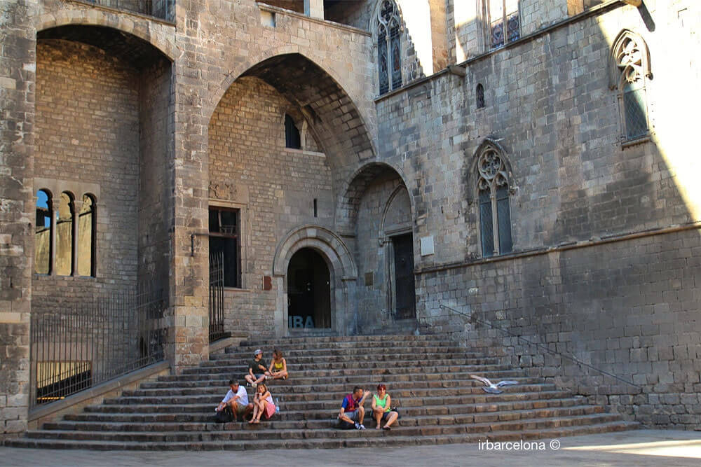 escales Palau Reial Major