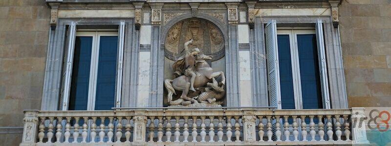 façana Palau Generalitat Catalunya
