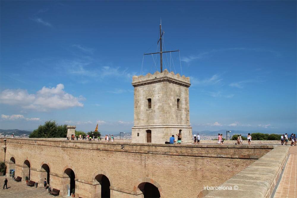 terrassa del Castell de Montjuïc